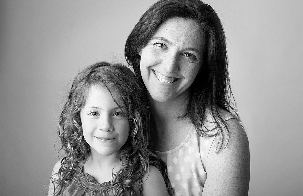 portrait of mother and daughter by pixelations photography