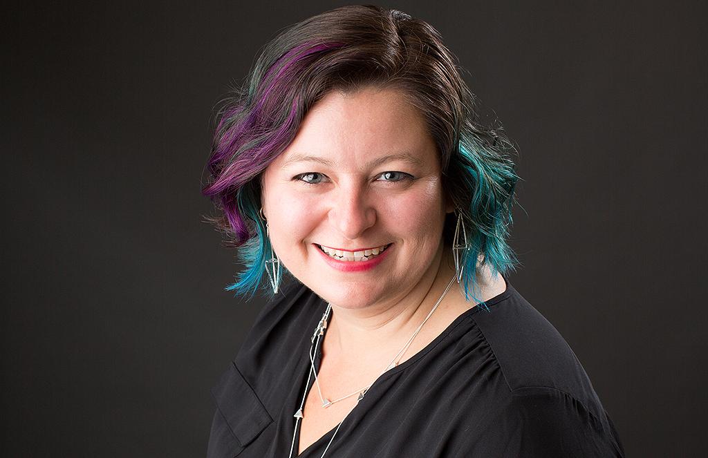 Headshot of woman by Pixelations Photography